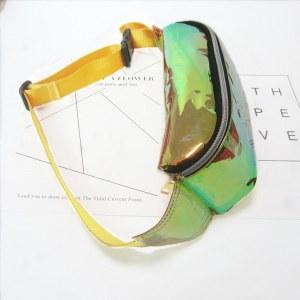 Bolsa Pochete Holográfica Transparente Varias Cores