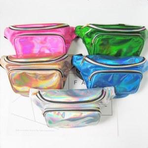 Bolsa Pochete Holográfica varias cores