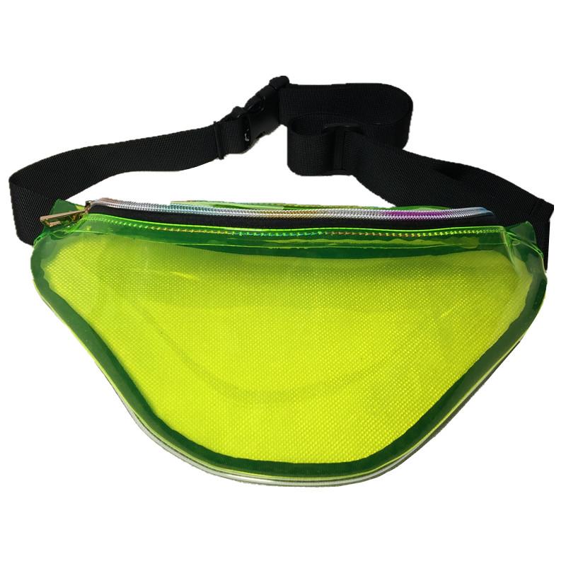 Bolsa Pochete de Cintura Holográfica Diversos Colores