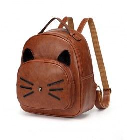 Bolsa Mini Mochila carita Gato