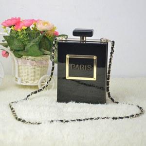 Bolsa Clutch en forma de Perfume