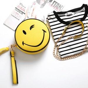 Bolsa divertida Clutch Emoji Sonrisa