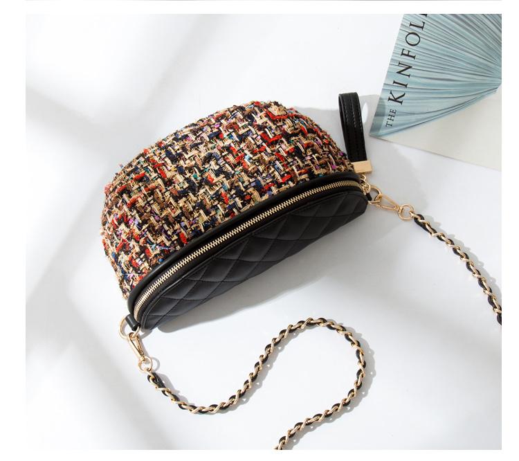 Bolsa Pochete Femenina Tweed