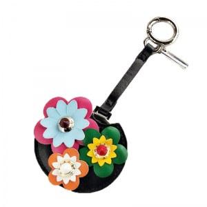 Acessório para Bolsa Chaveiro Flor