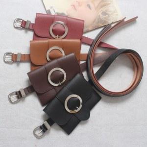 Bolsa Pochete Femenina con Cinturón Maxi Hebilla