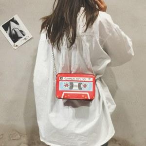 Bolsa divertida Cinta Cassette