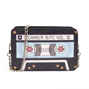 Bolsa divertida Cinta de cassette, bolsa de cinta de cassette