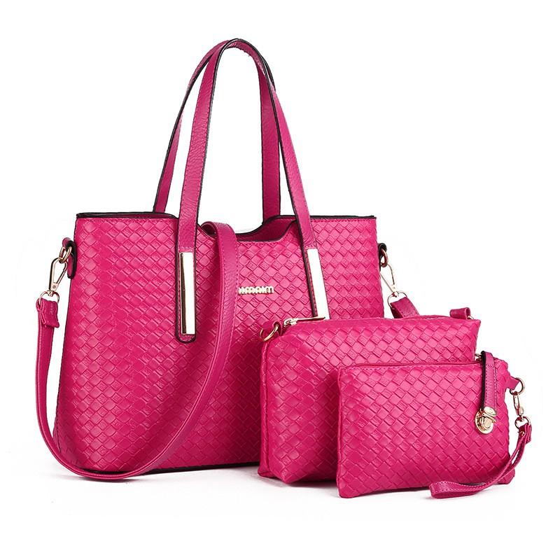 95541b16d Bolsa Feminina Conjunto Kit com 3 Bolsas varias cores - Bolsas ...
