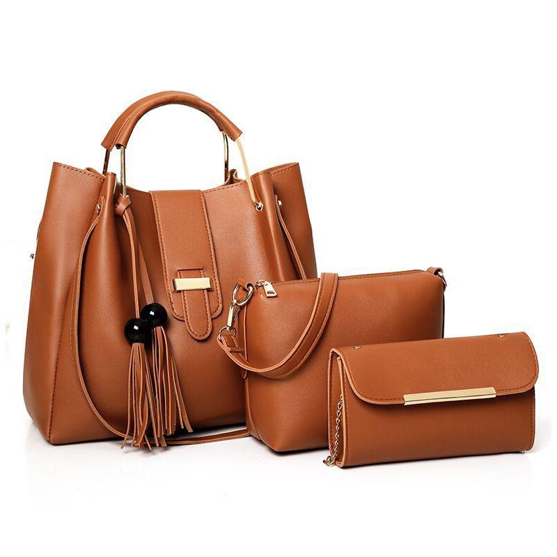 4062f4a36d Conjunto de Bolsas Femininas em Couro Varias Cores - Bolsas Divertidas