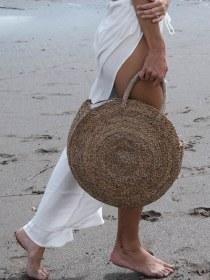 Bolsas de Palha como usar a nova Tendencia da temporada