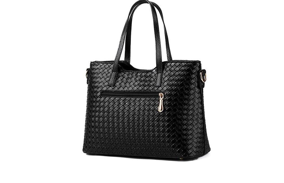 Women's Handbag Kit Set with 3 Various color bags