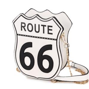 Bolsa Divertida Placa Route 66