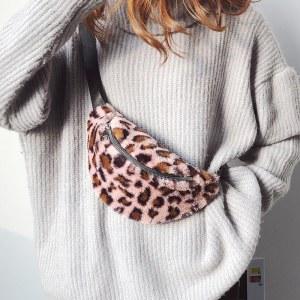 Bolsa Pochete de Cintura Animal Print
