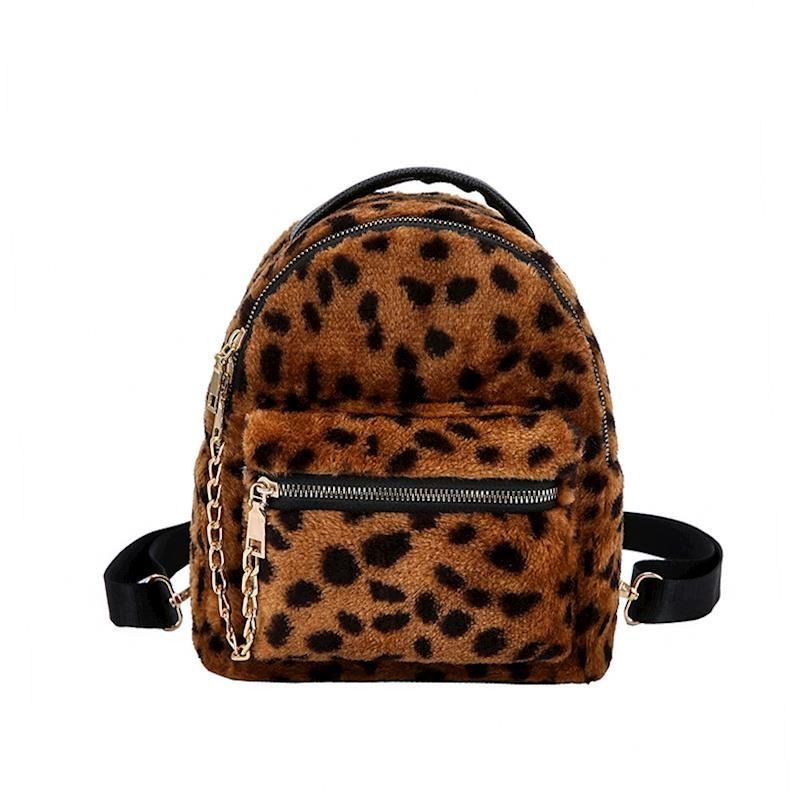 a65d2667a Mini Mochila Animal Print - Bolsas Divertidas